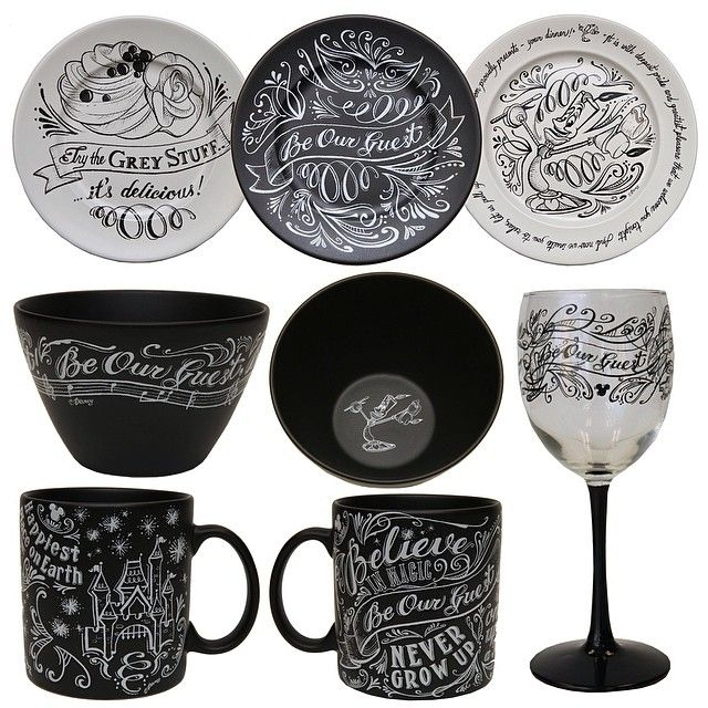 Amazing Beauty and the Beast dinnerware coming to Marketplace Co-Op at Downtown Disney