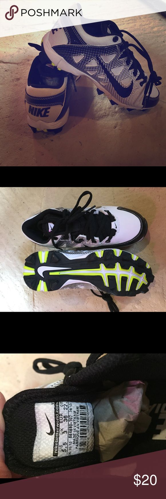 Nike Youth cleats- brand new Size 5.5 youth cleats. Never worn Nike Shoes