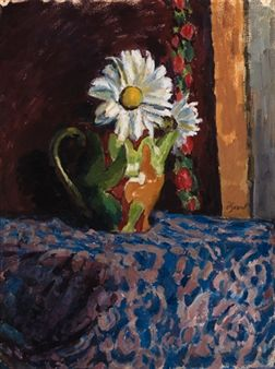 Daisies in a jug By Duncan Grant