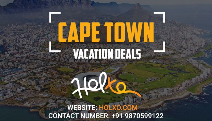 Holxo has the most attractive Cape Town Holiday Packages for all the globetrotters out there. From flight booking to hotels, food and to-do list, we have got everything covered for you. Our travel experts offer you the trip with most affordable options to match all your travel needs.