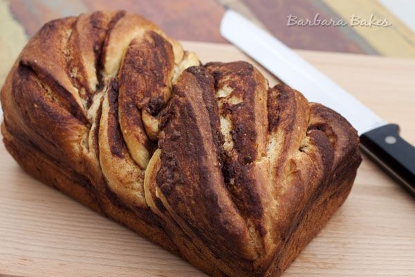 An easy-to-make rich, buttery brioche with a flaky crust and a tender, light and fluffy crumb. It's braided to create beautiful, delicious, sweet cinnamon swirls.