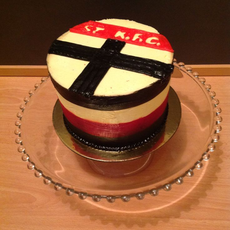 St Kilda , red velvet cake with Cream cheese butter icing