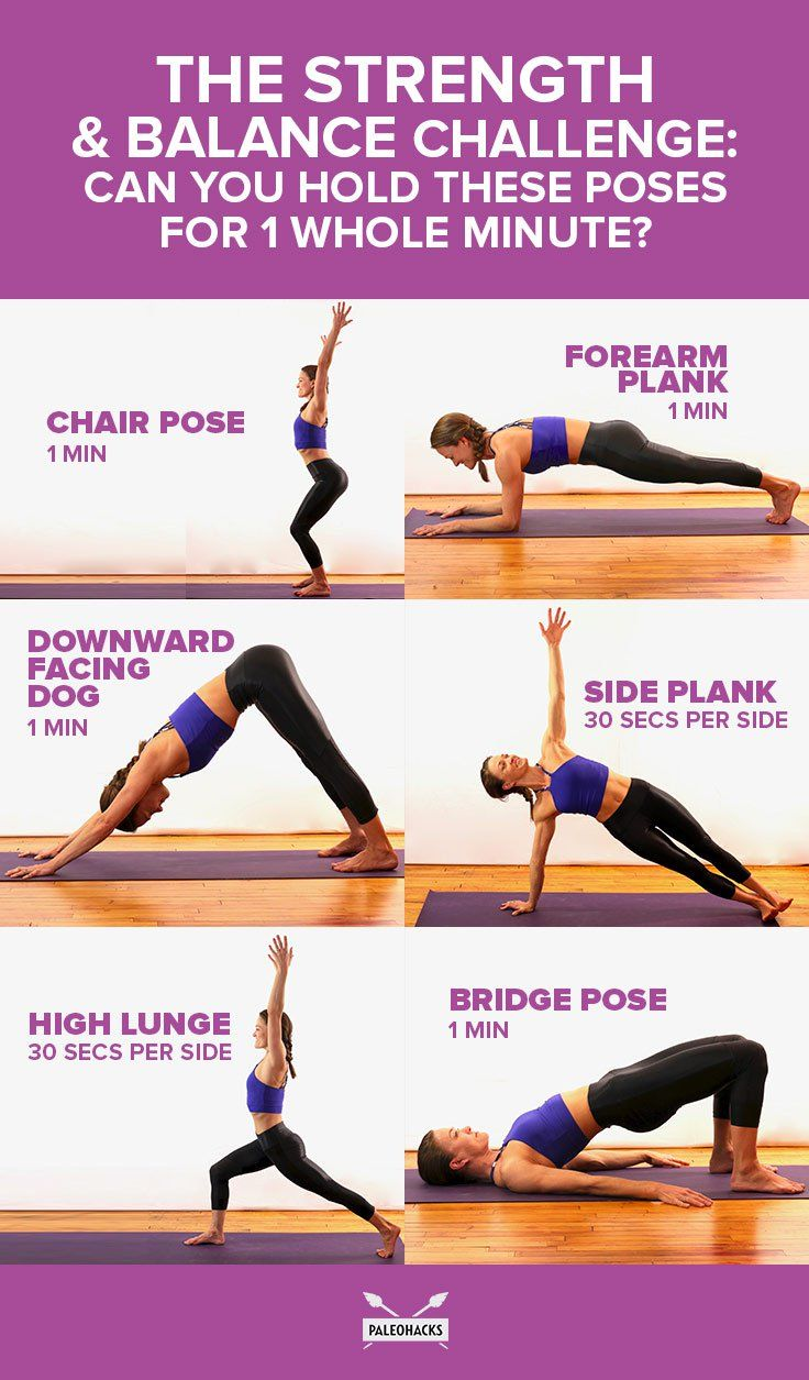 The Strength & Balance Challenge: Can You Hold These Poses for 37