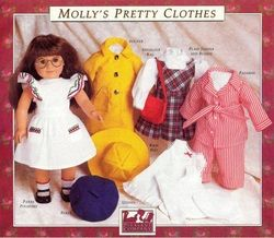 Pattern of Molly's Pretty Clothes. FREE. American Girl Doll Patterns  Also free patterns for Addy, Samantha, Kirsten, Josephina and Felicity