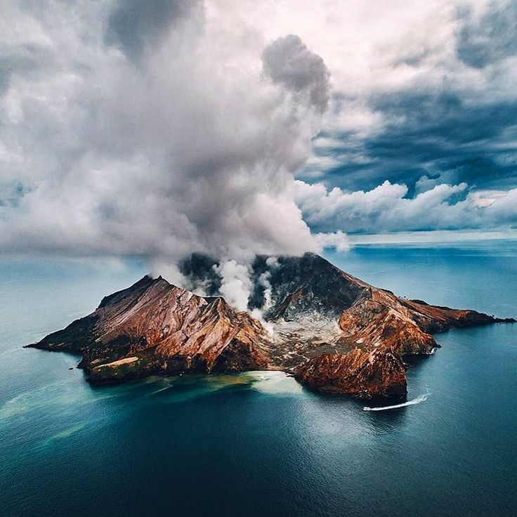 Whakaari The White Island Is One Of The Most Active