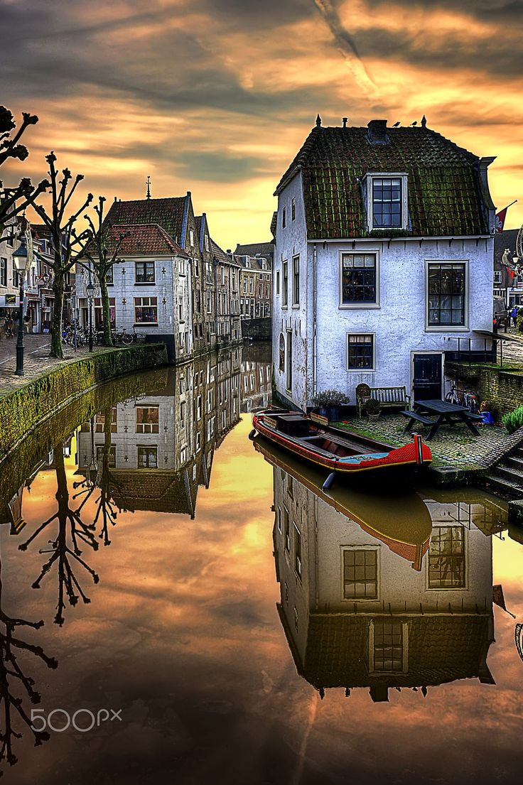 Oudewater, Holland by Ton lع Jeune