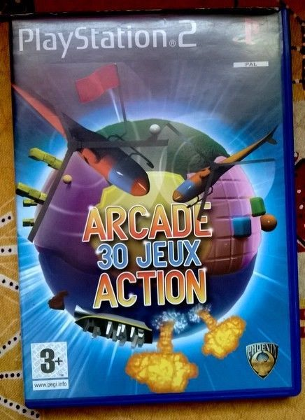 Jeux video   - Playstation 2 - Arcade - Action - 30 Jeux