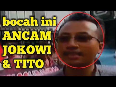 Berani !! bocah ini sindir protes TITO dan JOKOWI  jangan macam-macam pa...