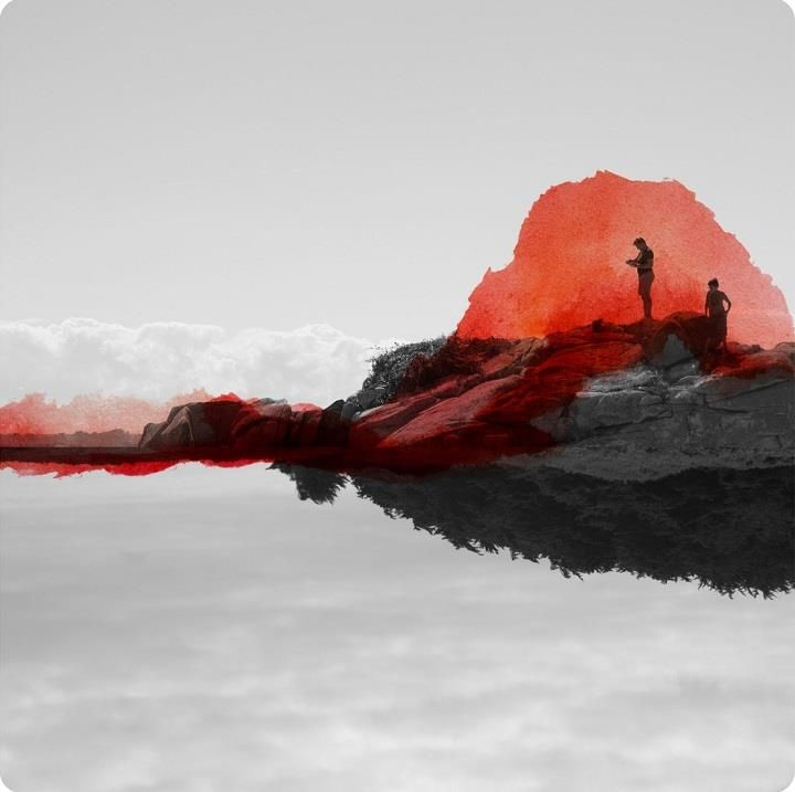 Fabienne Rivory - Recollections in Colors #art #photography #watercolors