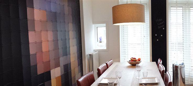 Ixxi wall art in kitchen