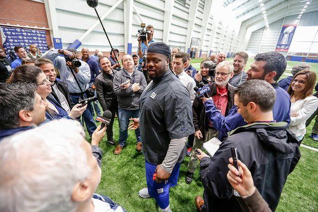 How Damon Harrison serves as inspiration for Giants' roster underdogs