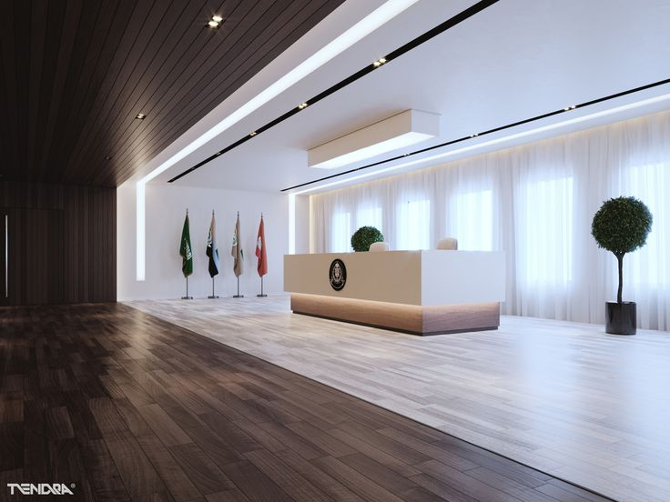 Our Design Proposal For Governmental Entity Reception And Display Hall In Saudi Arabia I Created
