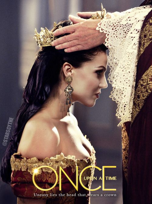 Once Upon a Time | Queen Regina | Coronation |  I hope one day we can see Regina's coronation. And her wedding to King Leopold. I think both would be pretty sad.