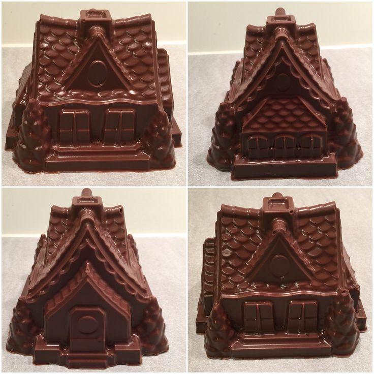 Chocolate made in Nordic Ware cake pan