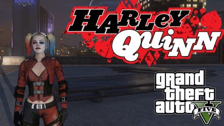GTA 5 моды - Harley Quinn from Injustice 2