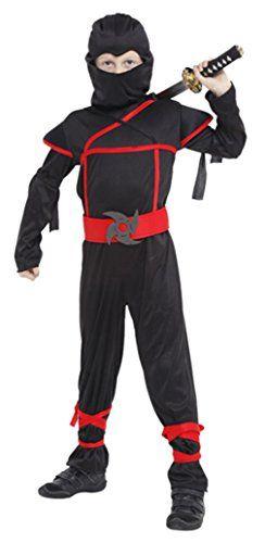 La Vogue Disfraz Cosplay Ninja de Niño Únisex para Hallow... https://www.amazon.es/dp/B01K9GLAXU/ref=cm_sw_r_pi_dp_x_h6xTxb5VWSPW8