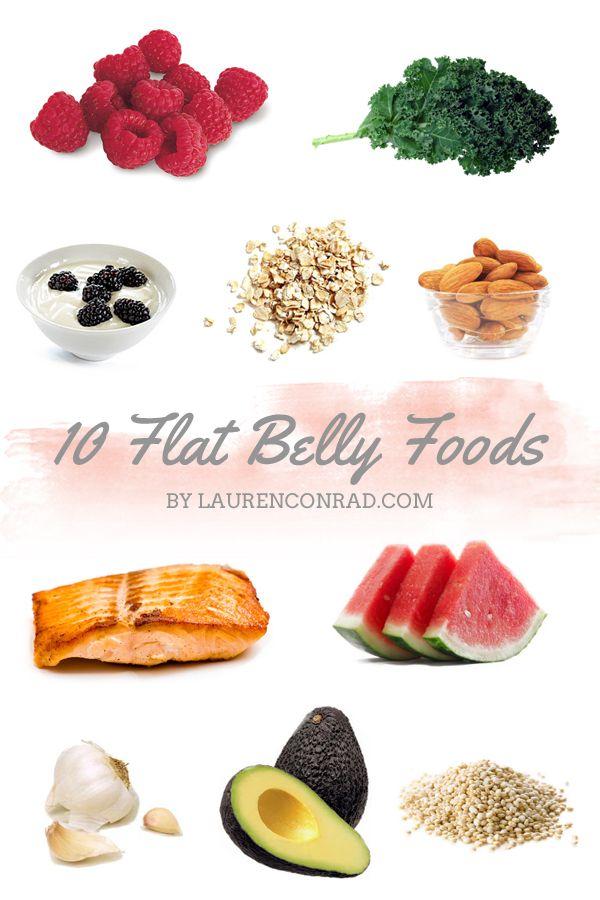 Tuesday Ten: Flat Belly Foods