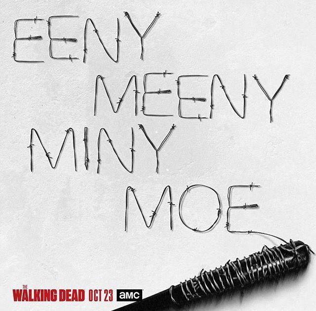 Lucille ~ Season 7 ~  The Walking Dead (AMC) Oct. 23, 2016