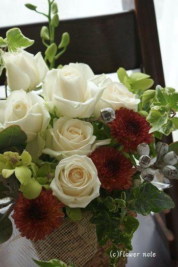 お宅訪問の手土産は http://ameblo.jp/flower-note/entry-10621017443.html