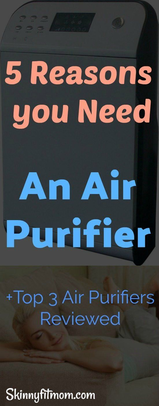 5 Reasons You Need An Air Purifier + Top 3 Air Purifiers Reviewed - These Sleek Air Purifiers Will Have You Breathing Easily #AirPurifiers