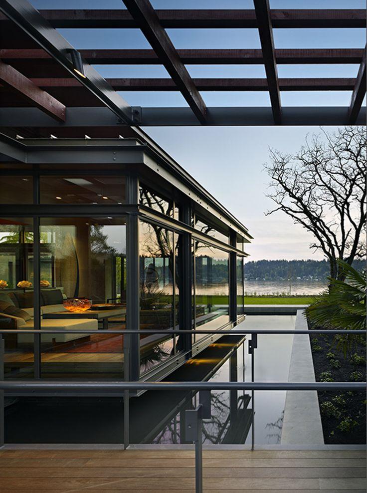architect Jim Olson of Olson Kundig Architects, and interior designer/furniture designer Garret Cord Werner