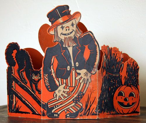 vintage beistle halloween decoration centerpiece 2 - Beistle Halloween Decorations