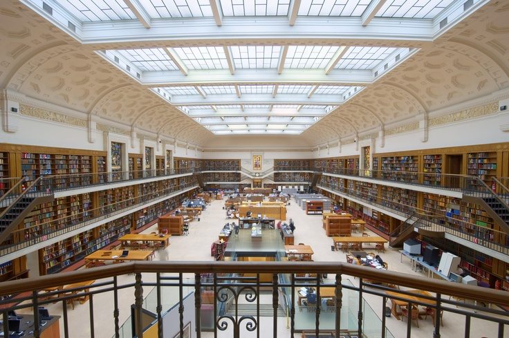 Mitchell Library Reading Room, State Library of New South Wales