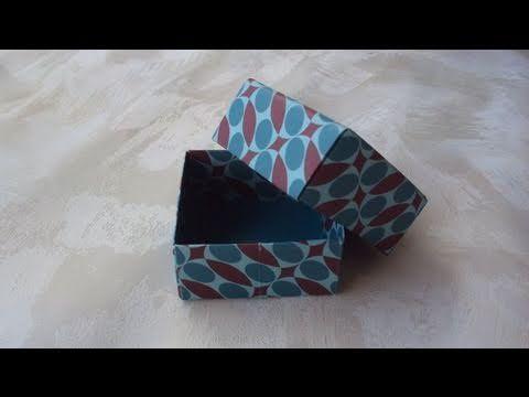 ▶ Scatoline origami (tutorial) - YouTube