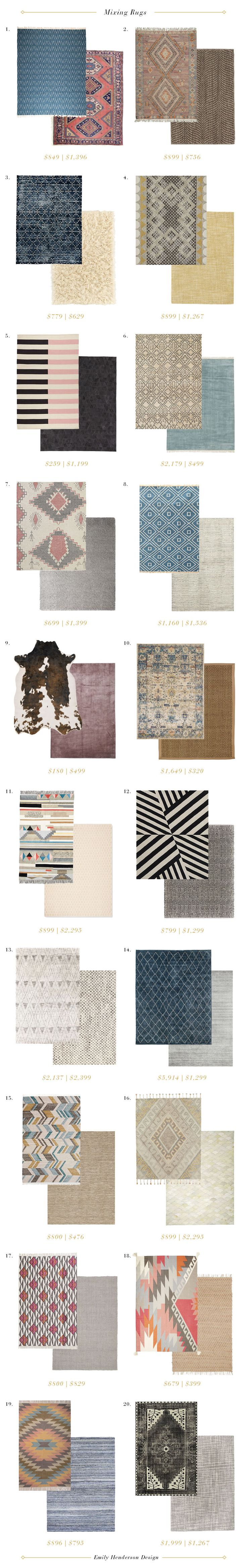How to Mix Multiple Rugs In The Same Room | www.Homeology.co.za