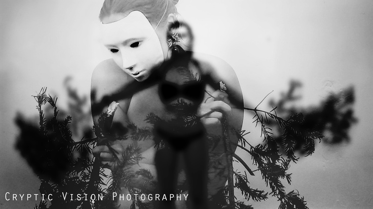 # White Mask. By www.crypticvisionphotography.com