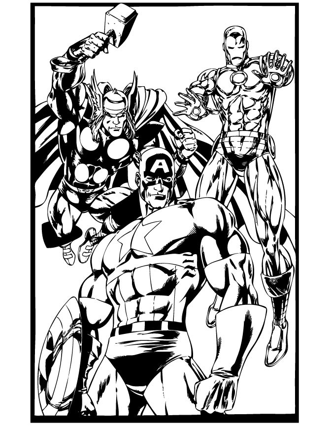 captain america coloring pages captain america thor and iron man coloring page iron man coloring