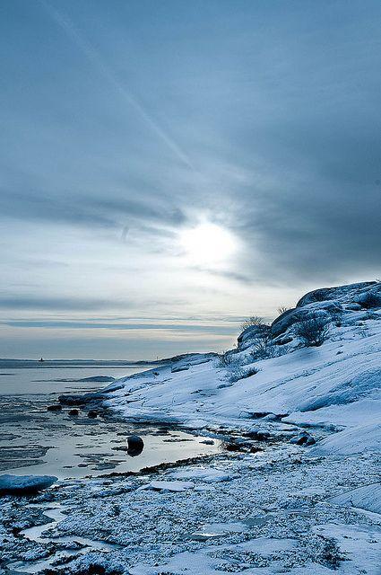 Winter in the Gohtenburg archipelago. Photo: Martin Andersson