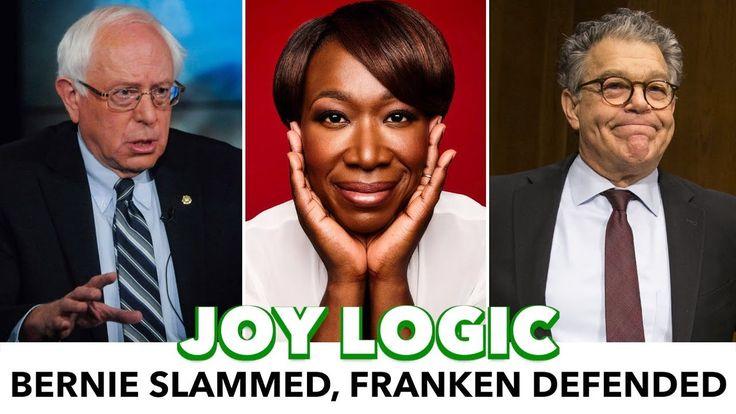 "Joy Reid Slams Bernie For ""Shooing Wife,"" Then Defends Al Franken"