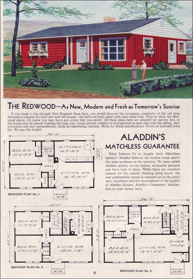 76 best Aladdin Co images on Pinterest Vintage homes Vintage