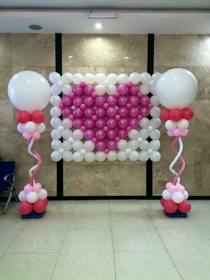 Valentines day balloon decoration