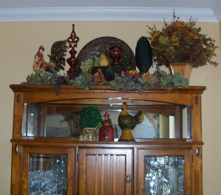 My Dining Room Hutch Tuscan Decor