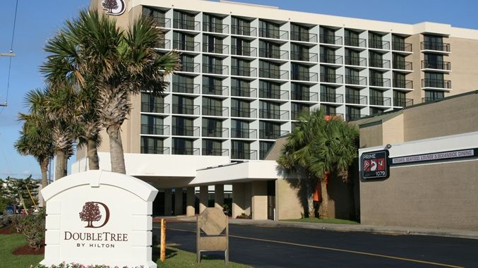 DoubleTree by Hilton Hotel Atlantic Beach Oceanfront Hotel, NC - Exterior
