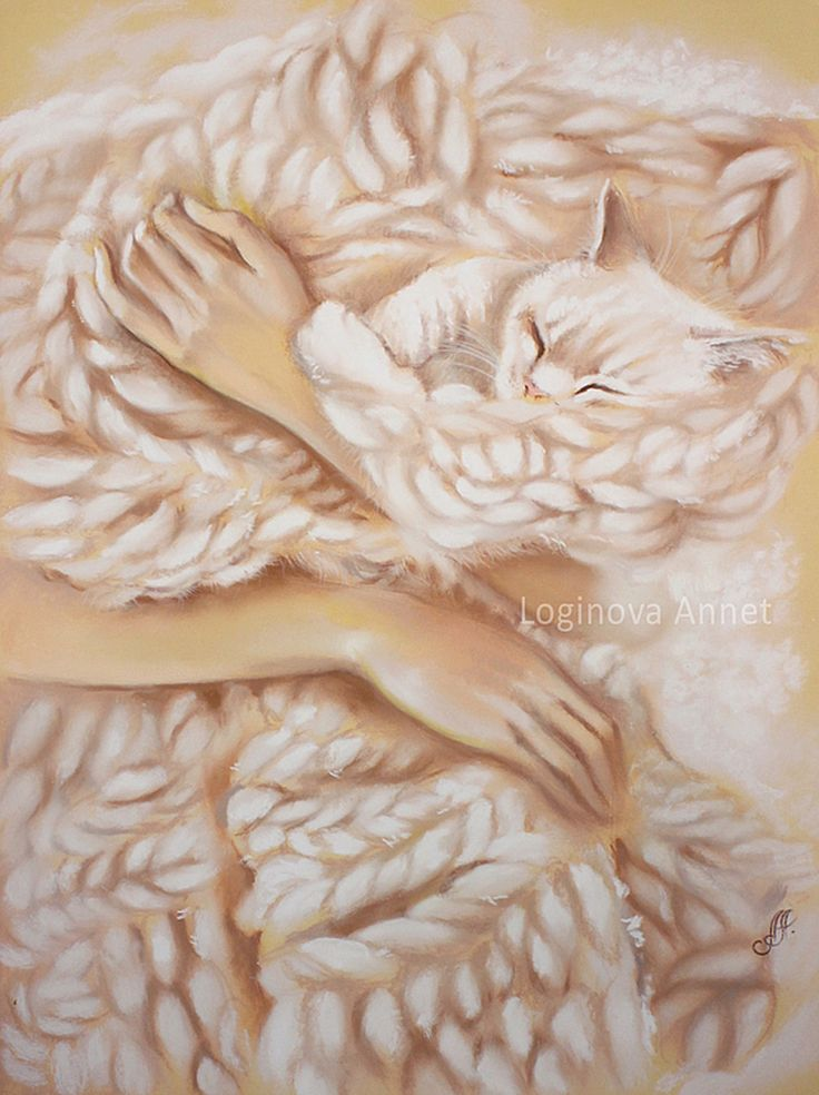 """Câlins confortables"" par Annet Loginova"