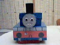 Thomas the Tank Engine shoebox train from DLTK site