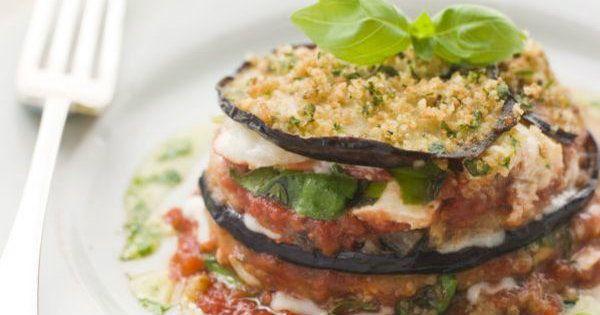 Italian Recipe: Homemade Eggplant Parmesan   12 Tomatoes