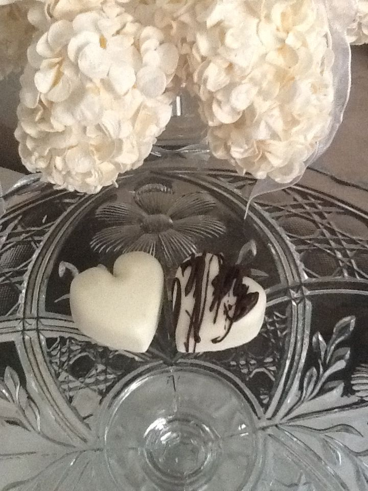 Solid White Chocolate Favor