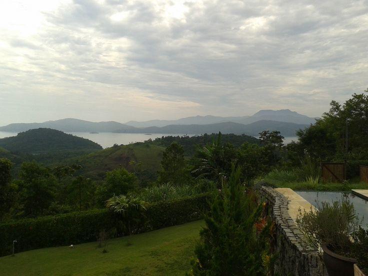 Vista da pousada BSB JAN em Paraty RJ