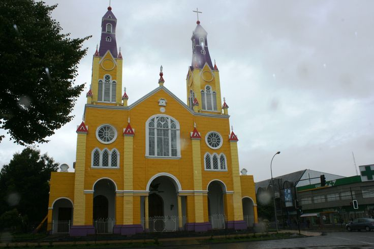 Catedral de Castro.Isla de Chiloé