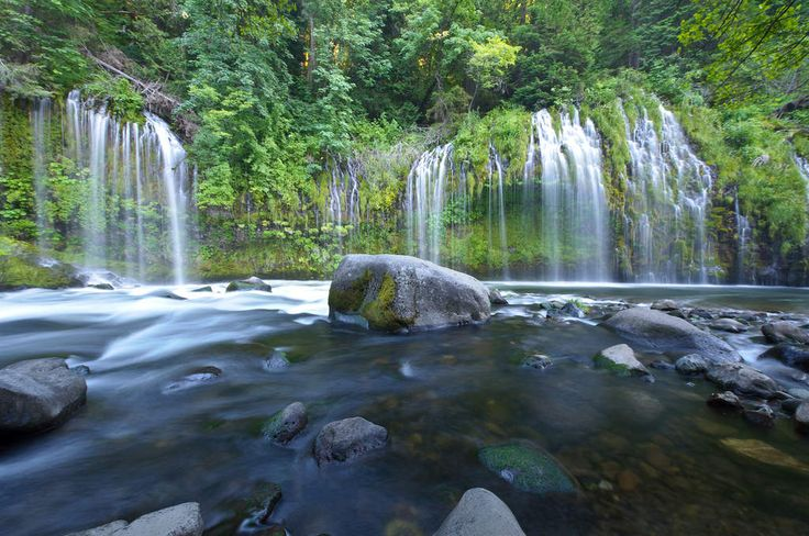 Mossbrae Falls, Dunsmuir | The 15 Most Beautiful Places in California You Didn't Know Existed