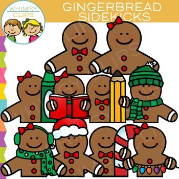This gingerbread clip art set contains 20 image files, which includes 10 color images and 10 black & white images in png. All clipart images are 300dpi for better scaling and printing.