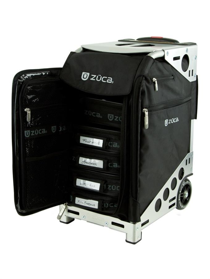 ZUCA Pro Artist Case Black/Silver Zuca bag, Zuca
