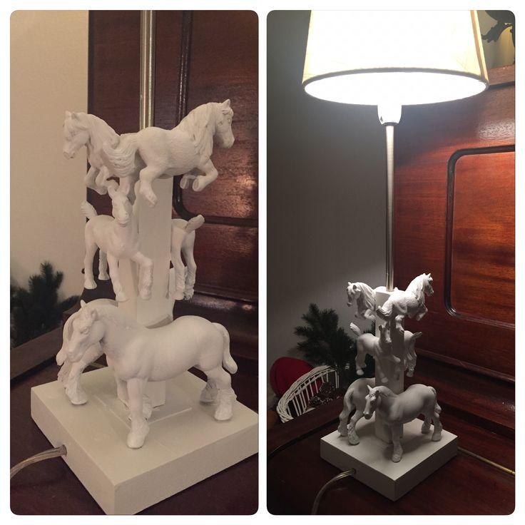 En lampe til en hestejente