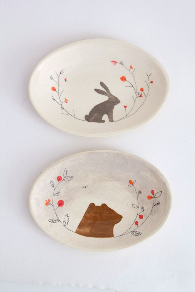 25 unique ceramic painting ideas on pinterest pottery for Diy ceramic plates