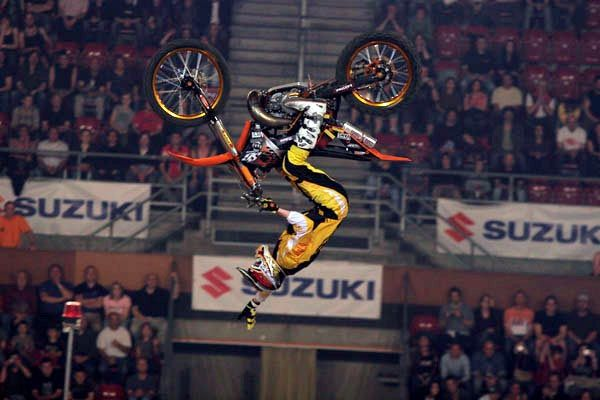 Night of the Jumps - Freestyle Motocross - FIM Freestyle MX World Championship 2013. Am 21.06. + 22.06.13 in der St. Jakobshalle Basel. Tickets: http://www.ticketcorner.ch/night-of-the-jumps