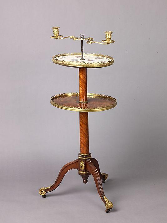Candlestand And Holder (guéridon) Attributed To Martin Carlin (French, Near  Freiburg Im. French FurnitureFine ...
